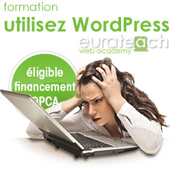 Utilisez WordPress