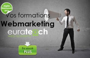 Eurateach formation Webmarketing